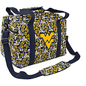 Eagles Wings West Virginia Mountaineers Quilted Cotton Mini Duffle Bag