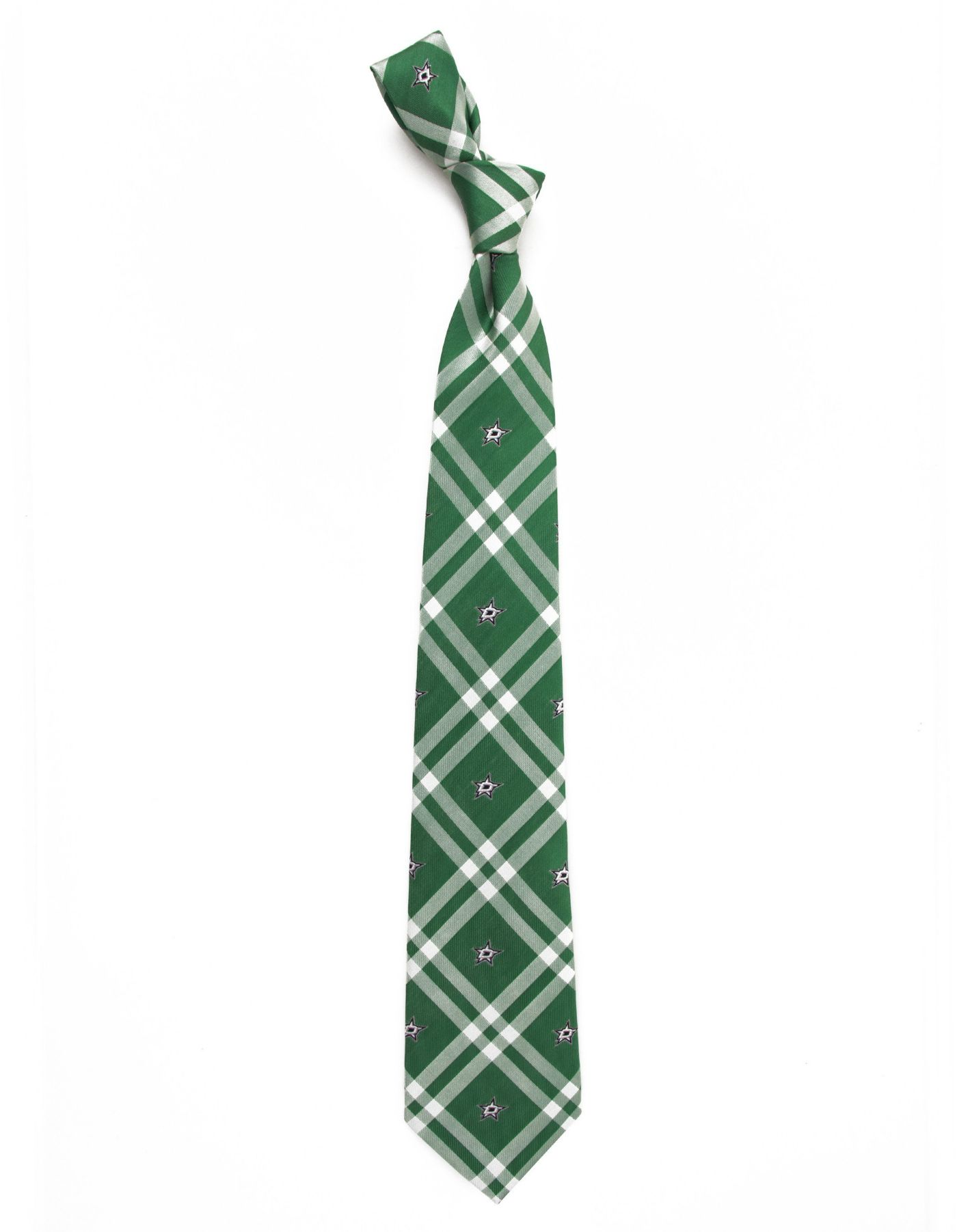 Eagles Wings Dallas Stars Woven Polyester Necktie