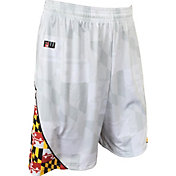 Fit 2 Win Men's Maryland Terrapins Maryland Pride White Shorts