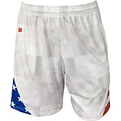 Fit 2 Win Men's Maryland Terrapins Maryland Pride USA White Shorts
