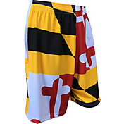 Fit 2 Win Men's Maryland Terrapins 'Maryland Pride' Flag Shorts