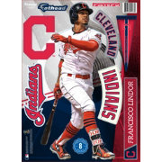 Fathead Cleveland Indians Francisco Lindor Wall Decal