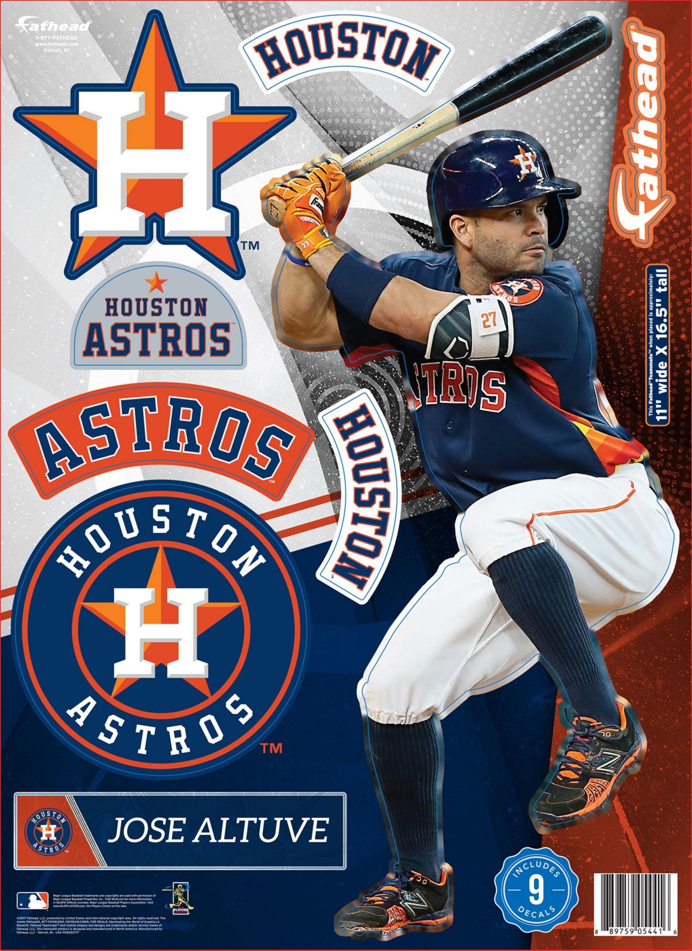 Fathead Houston Astros José Altuve Wall Decal