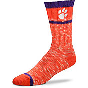 For Bare Feet Clemson Tigers Alpine Socks
