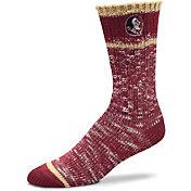 For Bare Feet Florida State Seminoles Alpine Socks