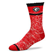 For Bare Feet Georgia Bulldogs Alpine Socks