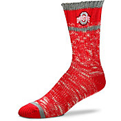 For Bare Feet Ohio State Buckeyes Alpine Socks