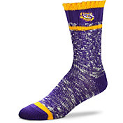 For Bare Feet LSU Tigers Alpine Socks