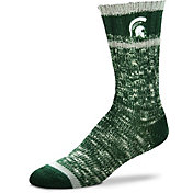 For Bare Feet Michigan State Spartans Alpine Socks