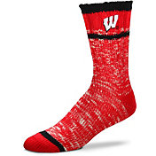 For Bare Feet Wisconsin Badgers Alpine Socks