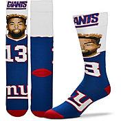 For Bare Feet New York Giants Odell Beckham Jr. Selfie Socks