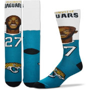 For Bare Feet Jacksonville Jaguars Leonard Fournette Selfie Socks