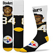 For Bare Feet Pittsburgh Steelers Antonio Brown Selfie Socks
