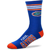 For Bare Feet Florida Gators 4-Stripe Crew Socks