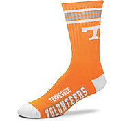 For Bare Feet Tennessee Volunteers 4-Stripe Crew Socks