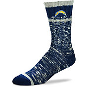 For Bare Feet Los Angeles Chargers Alpine Socks