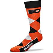 For Bare Feet Philadelphia Flyers Argyle Line Up Socks