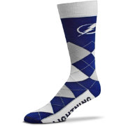 For Bare Feet Tampa Bay Lightning Argyle Line Up Socks