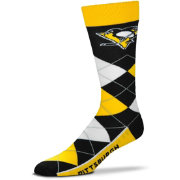 For Bare Feet Pittsburgh Penguins Argyle Line Up Socks