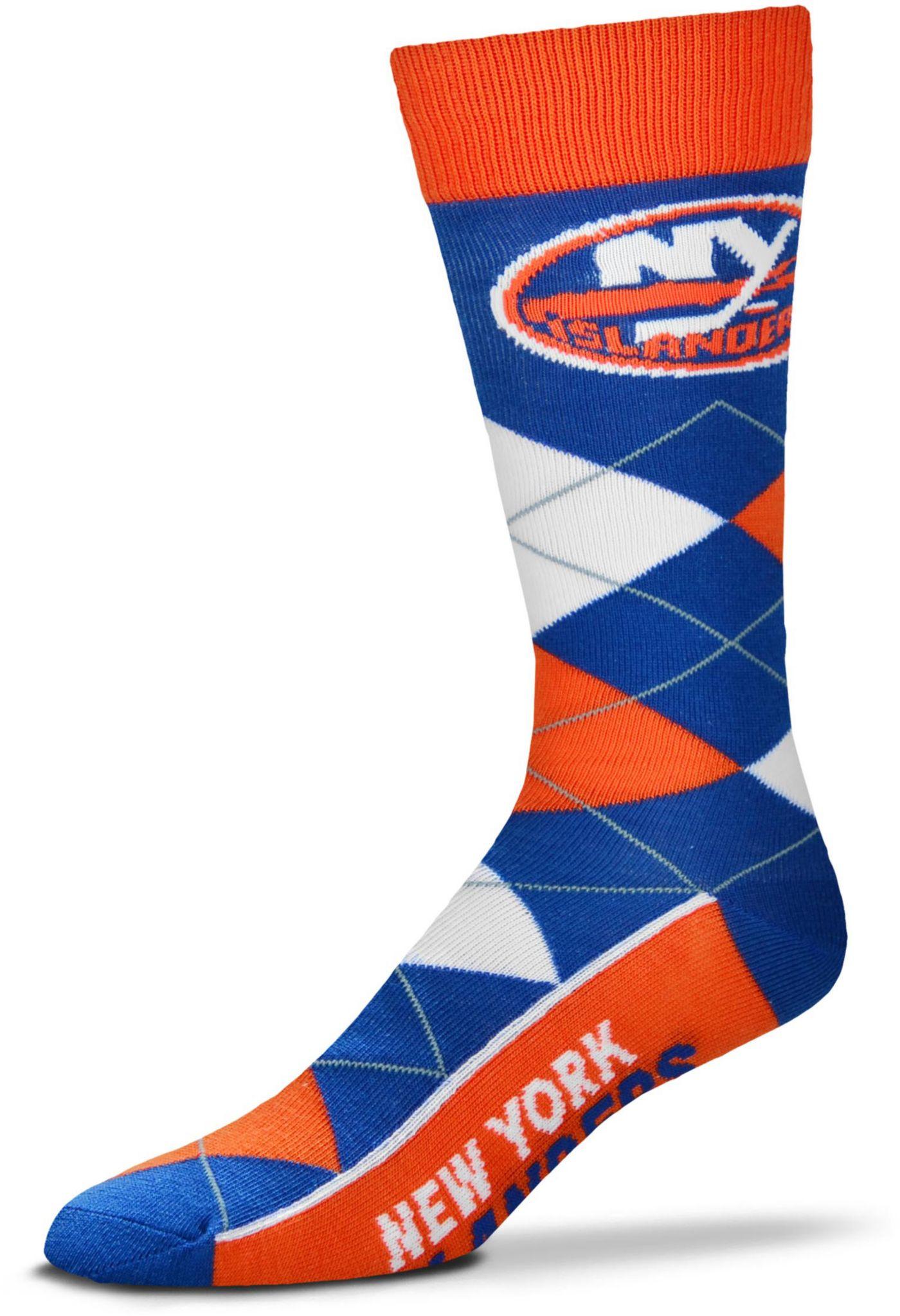 For Bare Feet New York Islanders Argyle Line Up Socks