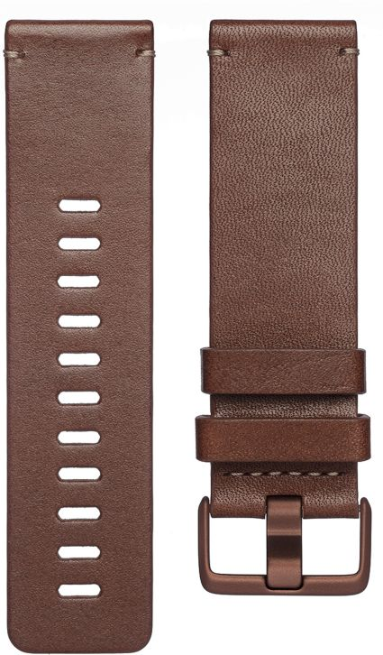 Fitbit Versa Leather Accessory Band