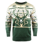 FOCO Milwaukee Bucks Light Up Sweater
