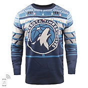 FOCO Minnesota Timberwolves Light Up Sweater