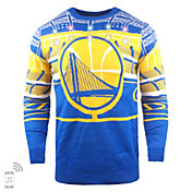 FOCO Golden State Warriors Light Up Sweater