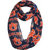 FOCO Auburn Tigers Logo Infinity Scarf