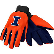 FOCO Illinois Fighting Illini Utility Gloves