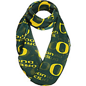 FOCO Oregon Ducks Logo Infinity Scarf
