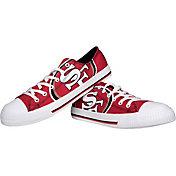 FOCO San Francisco 49ers Canvas Sneakers