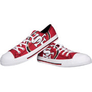 FOCO San Francisco 49ers Canvas Sneakers