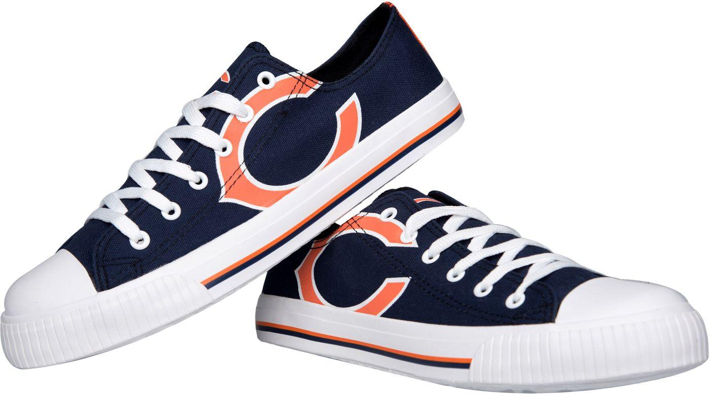 FOCO Chicago Bears Men's Canvas Sneakers