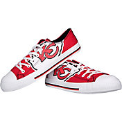FOCO Kansas City Chiefs Canvas Sneakers
