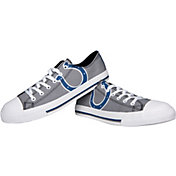 FOCO Indianapolis Colts Canvas Sneakers