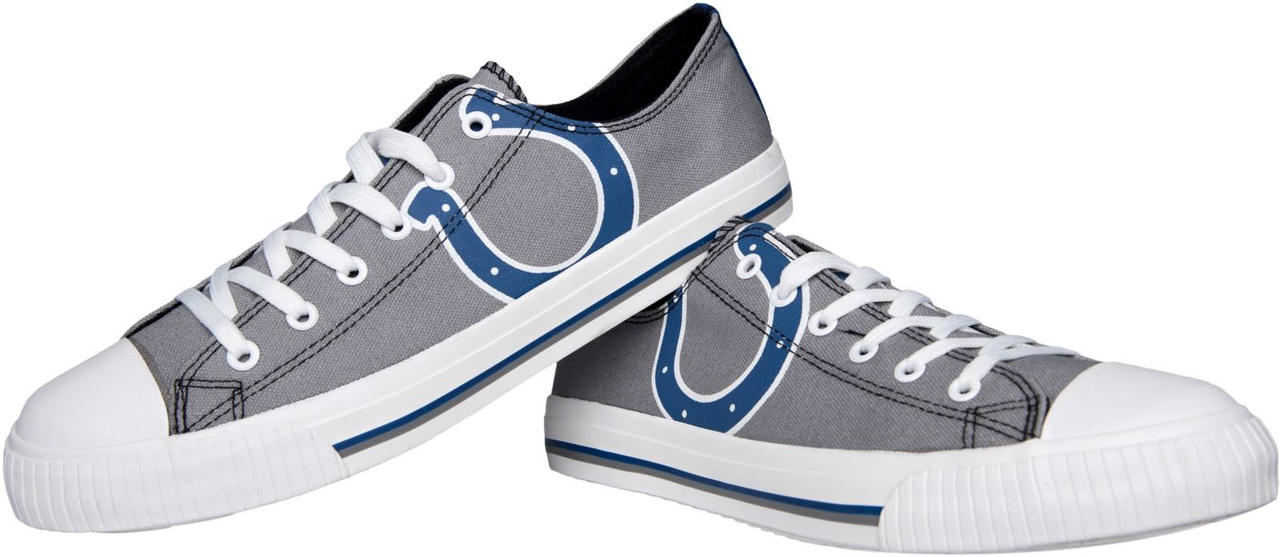 FOCO Indianapolis Colts Men's Canvas Sneakers