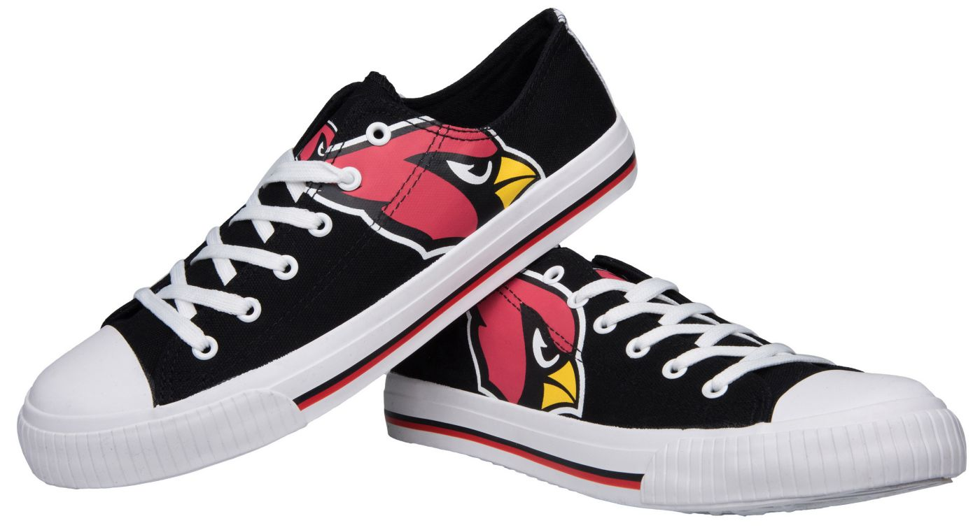 FOCO Arizona Cardinals Men's Canvas Sneakers