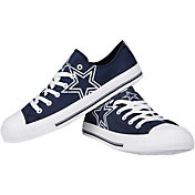 FOCO Dallas Cowboys Canvas Sneakers