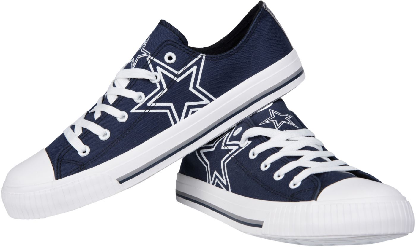 FOCO Dallas Cowboys Men's Canvas Sneakers