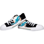 FOCO Miami Dolphins Men's Canvas Sneakers