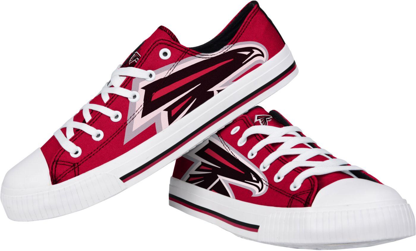FOCO Atlanta Falcons Men's Canvas Sneakers