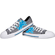 FOCO Detroit Lions Men's Canvas Sneakers