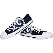 FOCO Los Angeles Rams Canvas Sneakers