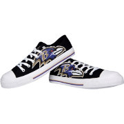 FOCO Baltimore Ravens Canvas Sneakers