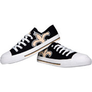 FOCO New Orleans Saints Canvas Sneakers