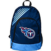 FOCO Tennessee Titans Stripe Backpack