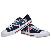 FOCO Houston Texans Canvas Sneakers