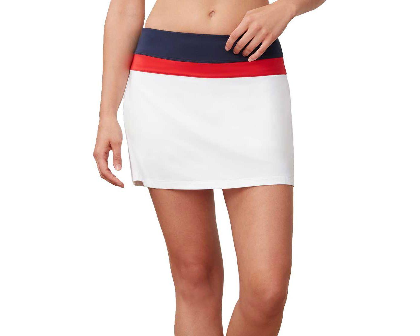 Fila Women's Heritage Colorblocked Tennis Skort
