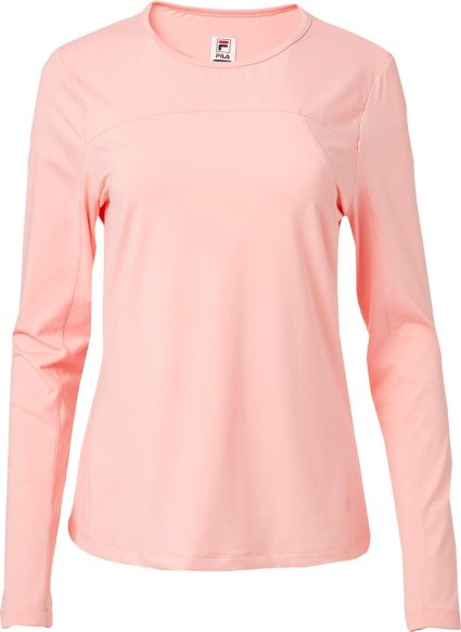 4d309f72dd Fila Women's UV Blocker Long Sleeve Tennis Shirt   DICK'S Sporting Goods